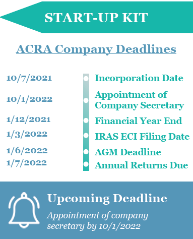 ACRA & IRAS Filing Obligations Timeline Example